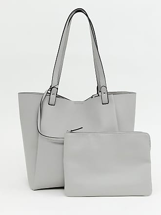 22078e2712c85 Asos Verstärkte Shopper-Tasche mit abnehmbarem Tablet-Etui - Gold