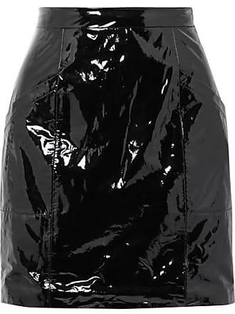 Fleur du Mal Pvc Mini Skirt - Black
