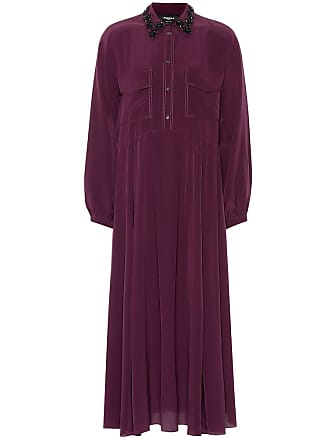 Rochas Silk shirt dress
