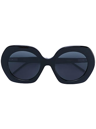 f9e564d927d2 Thom Browne oversized rounded sunglasses - Black