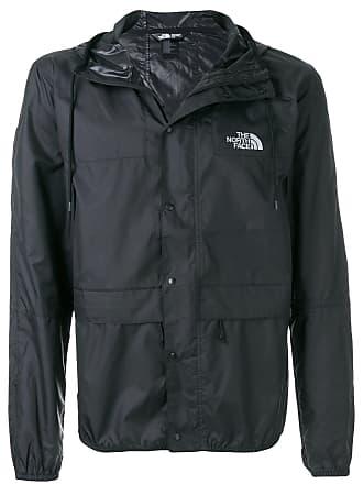 The North Face logo zipped jacket - Black