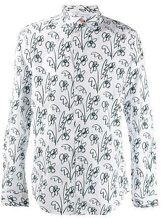 Paul Smith Camisa com estampa floral - Branco