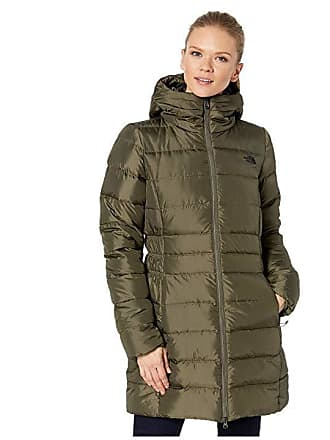 7a16f9eaca The North Face Gotham Parka II (New Taupe Green) Womens Coat