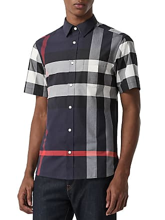 133aac16261f Men's Burberry® Short Sleeve Shirts − Shop now up to −56% | Stylight