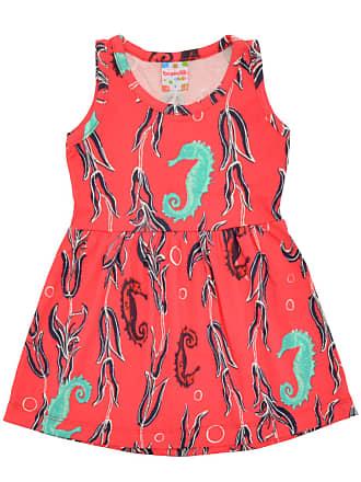 Brandili Vestido Brandili Bebê Menina Coral