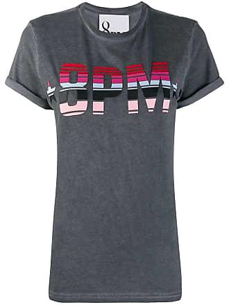 8pm printed logo T-shirt - Grey