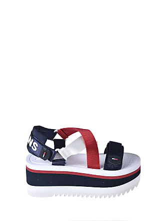a21b9ba140e6 Tommy Hilfiger Tommy Jeans Sporty Neoprene Womens Flatform Sandals in Red  White Blue - 6.5 UK
