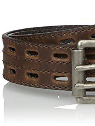 Womens Work Brown Double Hole Nocona Belt Co