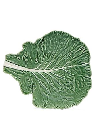 Bordallo Pinheiro Cabbage Earthenware Platter - Green