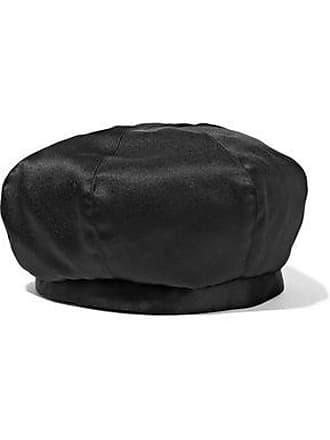 3e728e1e Eugenia Kim Eugenia Kim Woman Chloe Satin Beret Black Size ONESIZE