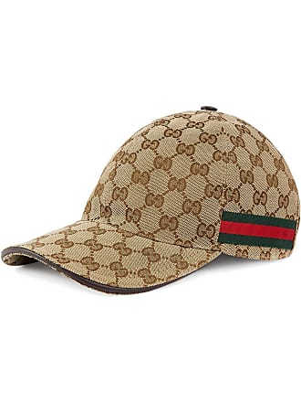 3d62a0a8ad7 Gucci Original GG canvas baseball hat with Web - Neutrals