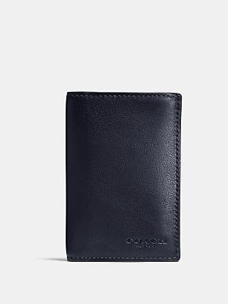 70ee1d556593 Coach Porte-cartes deux volets en cuir de veau sport