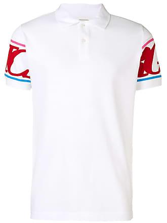 Iceberg logo print polo shirt - White