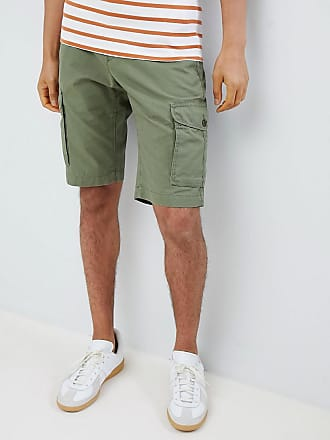 55739f44ff Tommy Hilfiger regular fit cargo shorts with icon tab detail in green