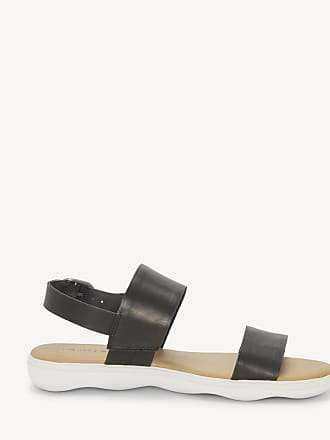 8c9909ead32e04 Lucky Brand Womens Madgey Flat Sandals Black Size 8 Leather From Sole  Society