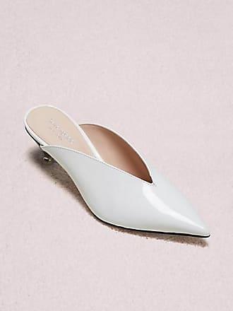 Kate Spade New York Cori Mules, White - Size 10