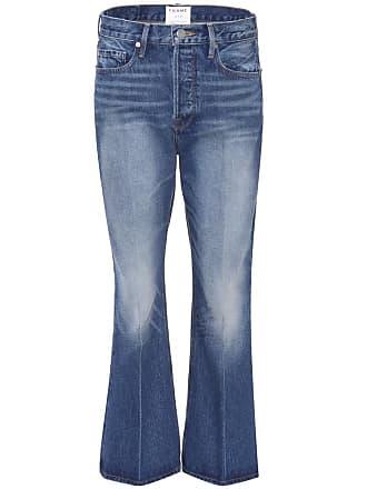 Frame Denim Le Crop Flare mid-rise jeans