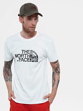 The North Face T-Shirt uomo Woodcut Dome / Bianco