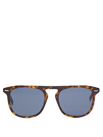af47168dc4f98 Lunettes Dior Blacktie254s Aviator Acetate Sunglasses - Mens - Tortoiseshell