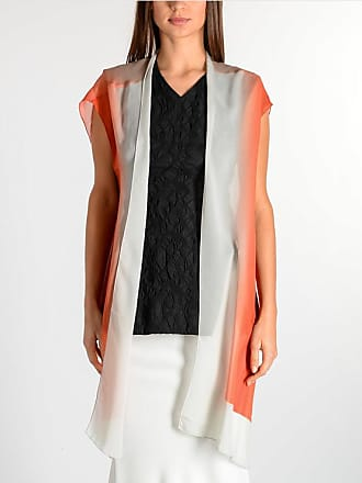 Rick Owens Silk T TRENCH Gilet DEGRADE CORAL size 40