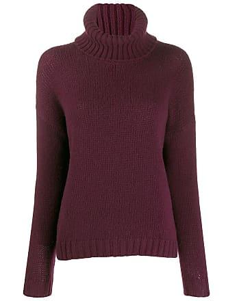 Incentive! Cashmere turtleneck jumper - Vermelho