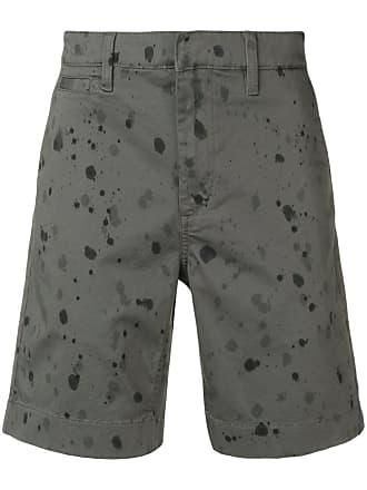 John Varvatos splash print shorts - Green