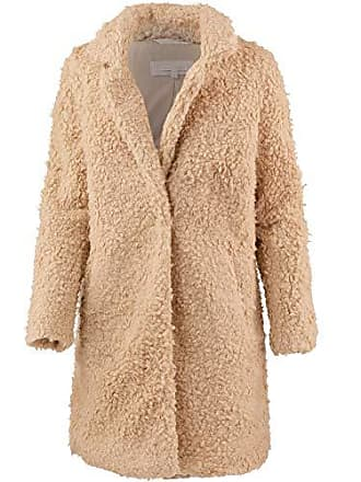 Tom Tailor Damen Jacke Wertige Teddykunstfellmantel Mantel Outdoor b55a0e503a