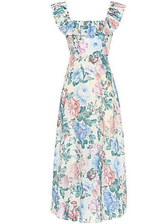 Zimmermann Verity floral linen dress