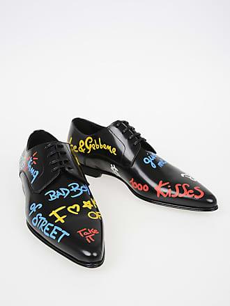 Dolce   Gabbana Derby in Pelle Stampate taglia 45 042d114cb4c
