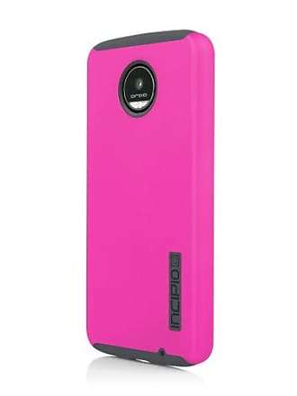 Incipio DualPro Series Dual Layer Case Cover for Motorola Z Play - Pink/Gray