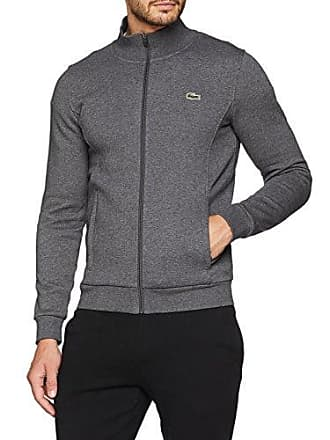 e264d6c70a Lacoste SH7616 Sweat-Shirt, Gris (Noir Pitch 050), XX-Large