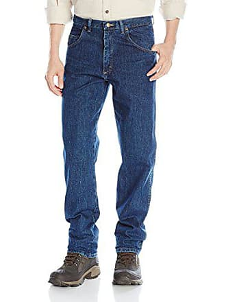 Wrangler Mens Rugged Wear Jean, Dark Stonewash, 40x29