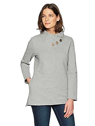 Neon Buddha Womens Walk About Pullover 8483, Sporty Grey, L