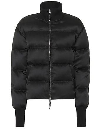 Alexander McQueen Quilted silk-blend jacket
