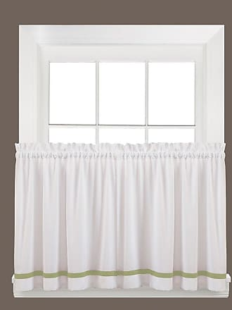 Manor Curtain Tier Pair SKL Home by Saturday Knight Ltd Berry 57 inches x 24 inches