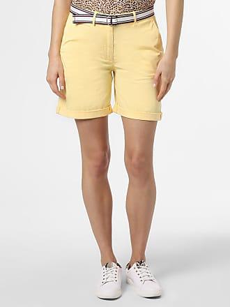 Tommy Hilfiger Damen Shorts gelb