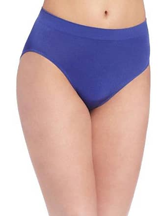 6b144659b9e8 Wacoal Womens B-Smooth Hi Cut Panty Brief Panty, Deep Ultramarine, Small