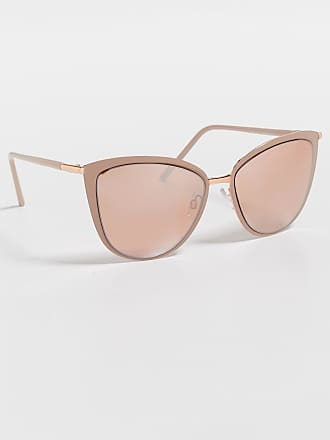 Maurices Slim Metal Cat Eye Sunglasses