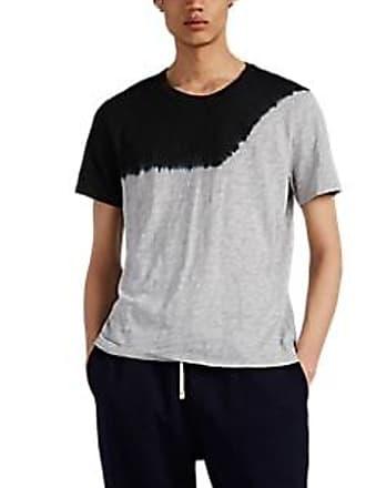 4f7a715405d ATM Anthony Thomas Melillo Mens Slub-Knit Cotton T-Shirt - Dark Gray Size
