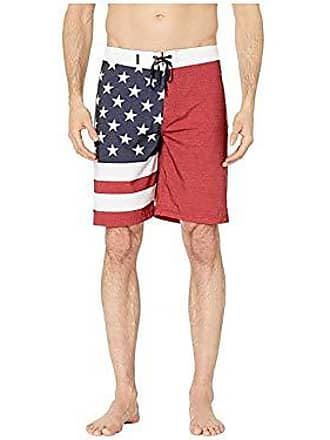 ef5a90433b Hurley Mens 20 Phantom Patriot Board Shorts, Gym Red B, 36