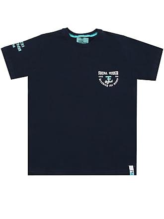 Fatal Surf Camiseta Fatal Menino Posterior Preta