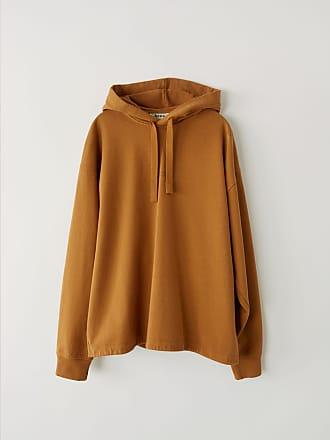 Acne Studios FN-MN-SWEA000036 Antique brown Hooded sweatshirt