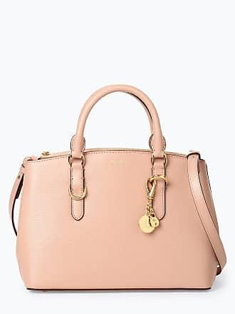 9c570f5131dbe Ralph Lauren Damen Handtasche aus Leder rosa