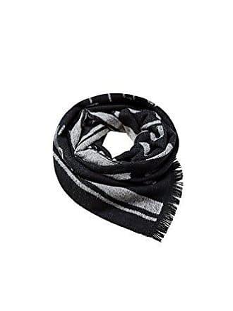 7a7b804b1b39 Esprit Accessoires 088ea2q002, Echarpe Homme, Noir (Black 001), Taille  Unique (