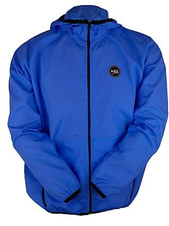 HB Jaqueta HB Corta Vento Zip Pocket Azul-M