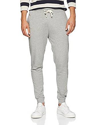 28233648e3cbc Jack & Jones Jjeholmen Sweat Pants Noos Pantalon, Gris (Light Grey  Melange-Comfort