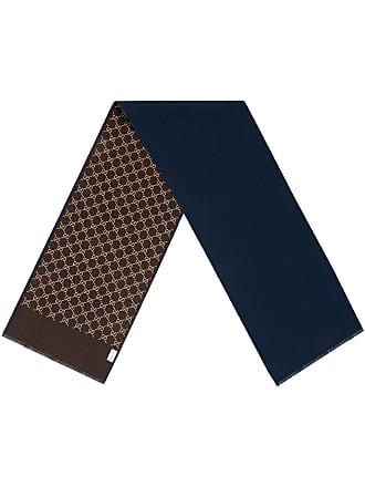 Gucci Cachecol com estampa GG - Azul