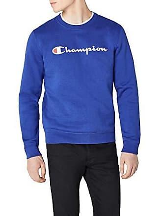 59e15b2964ac4 Champion Crewneck Sweatshirt-Institutionals, Sweat-Shirt Homme, Bleu (Bvu),