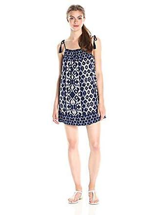 fdc639d6d69 BB Dakota Womens Lyndon Printed Shift Dress with Tassel Ties