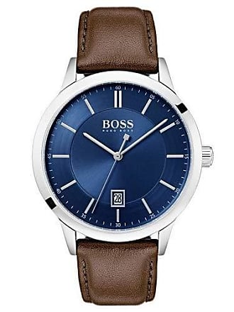 HUGO BOSS Relógio Hugo Boss Masculino Couro Marrom - 1513612